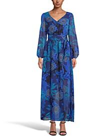 INC Paisley-Print Maxi Dress, Created for Macy's
