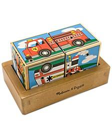 Kids Toy, Vehicles Sound Blocks