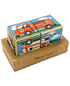 Melissa and Doug Kids Toy, Vehicles Sound Blocks