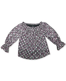 INC Off-The-Shoulder Peasant Top, Created for Macy's