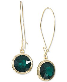Gold-Tone Stone Drop Earrings, Created for Macy's
