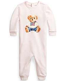 Baby Flag Bear Terry Coverall