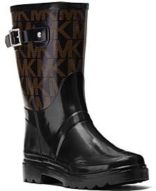 MK Signature Logo Rain Boots