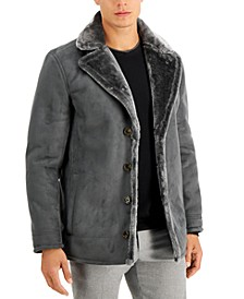 Men's Faux-Shearling Jacket, Created for Macy's