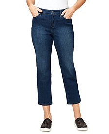 Women's Modern Straight Crop Jeans