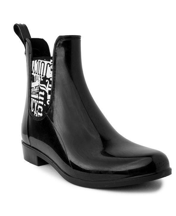 Juicy Couture Women's Romance Ankle Rainboots