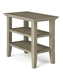 Acadian Solid Wood Narrow Side Table