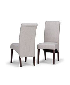 Avalon Deluxe Parson Dining Chair, Set of 2