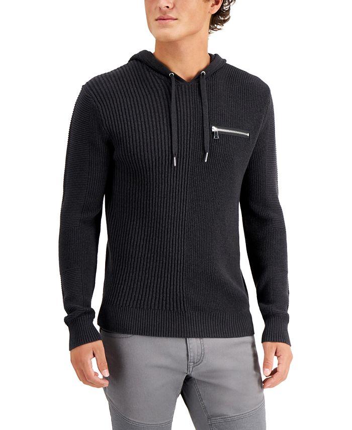 INC International Concepts - Men's Wolfie Hoodie Sweater