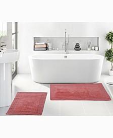Luxury Hotel Style Bath Rug, 2 Piece Set