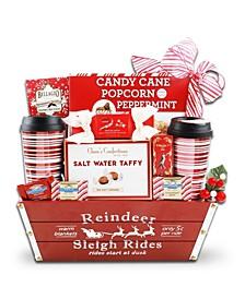 Reindeer Sleigh Rides Gift Basket