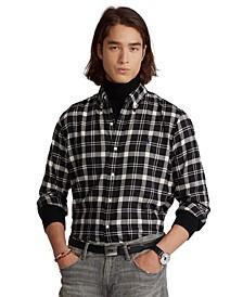 Men's Classic-Fit Plaid Performance Shirt