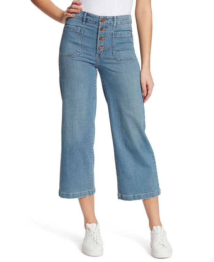 WILLIAM RAST - Cropped Wide-Leg Jeans