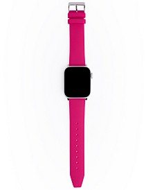 Women's Magenta Silicone Apple Watch® Strap