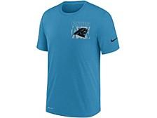 Carolina Panthers Men's Dri-Fit Cotton Facility T-shirt