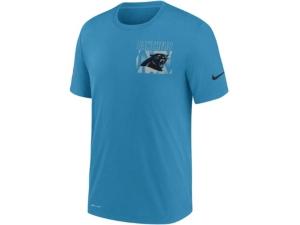 Nike Carolina Panthers Men's Dri-Fit Cotton Facility T-shirt