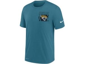 Nike Jacksonville Jaguars Men's Dri-Fit Cotton Facility T-shirt