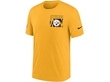 Pittsburgh Steelers Men's Dri-Fit Cotton Facility T-shirt
