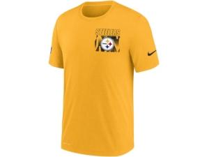 Nike Pittsburgh Steelers Men's Dri-Fit Cotton Facility T-shirt