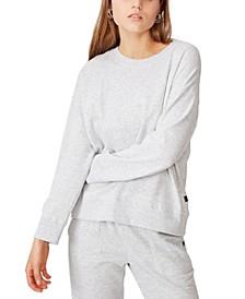 Women's Long Sleeve Fleece Crew Sweater