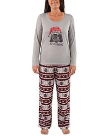 Matching Women's Holiday Darth Vader Family Pajama Set