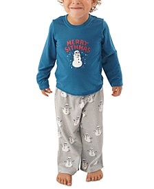 Matching Toddler Holiday Merry Sithmas Family Pajama Set