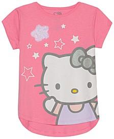 Toddler Girls Stars Graphic T-Shirt