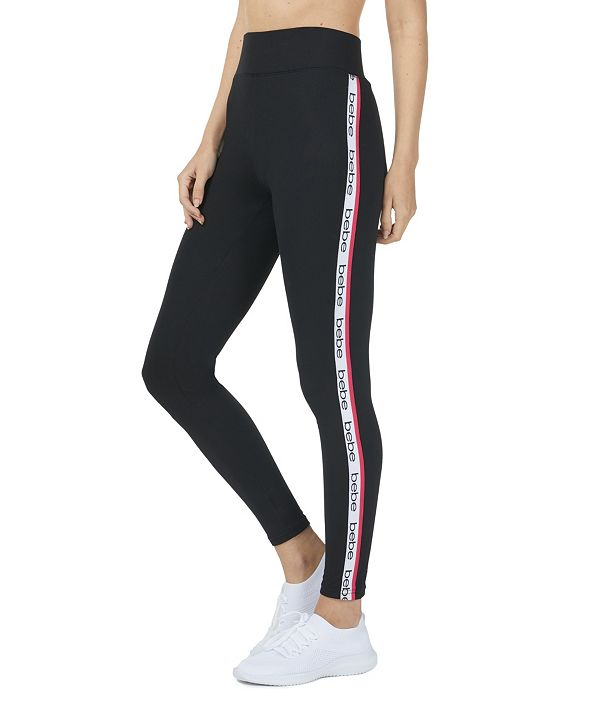 bebe Women's Logo Side Stripe Jogger Sweatpants (66% Off) -- Comparable Value $59