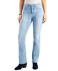 High-Rise Bootcut Jeans, Created for Macy's