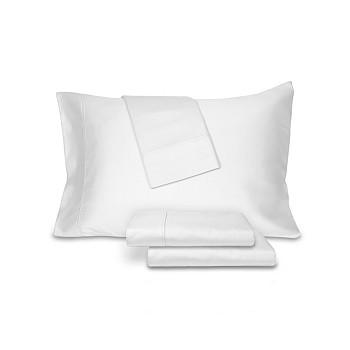 4-Piece AQ Textiles Ultra Lux Cotton 800 Thread Count Sheet Set