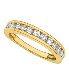 Diamond Channel Band 1/2 ct. t.w. in 14k White or Yellow Gold
