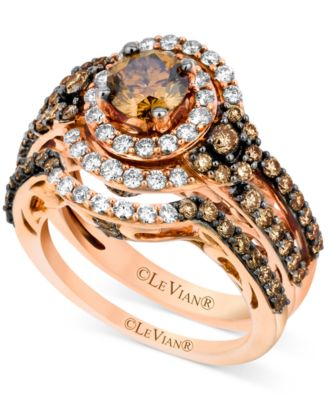 Charmant Le Vian Bridal Set, Chocolate Diamond (1 3/4 Ct. T.w.