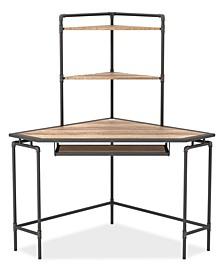 Kurzal and Copper Corner Desk