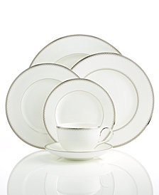 Monique Lhuillier Waterford Dinnerware, Dentelle Collection