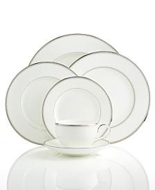 Monique Lhuillier Waterford Dinnerware, Dentelle Collection