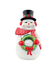 Mr Christmas Lit Nostalgic Candle Santa Reviews Shop All Holiday Home Macy S