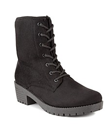 Women's Kam Lace-Up Combat Boots