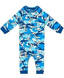Organic Baby Boy 1-Piece Caleb Coverall