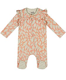 Earth Organic Baby Girl 1-Piece Aurora Coverall