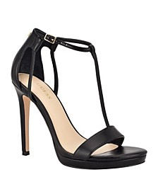 Women's Tecru T-Strap Dress Sandals