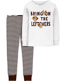 Baby Boy or Girl 2-Piece 100% Snug Fit Cotton PJs