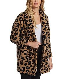 Carmen Leopard-Print Coat