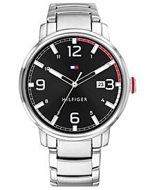 Men's Stainless Steel Bracelet Watch 44mm, Created for Macy's