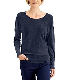 Rivet Dolman-Sleeve Top, Created for Macy's