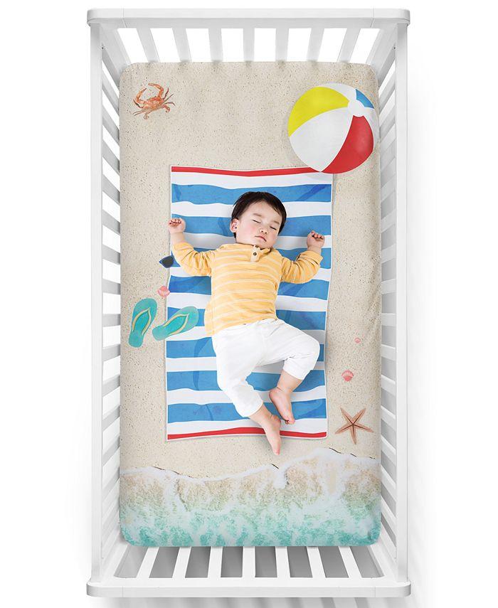 Luvsy Beach Baby Crib Sheet Reviews, Beach Baby Crib Bedding