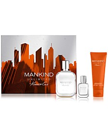 Men's 3-Pc. Mankind Unlimited Eau de Toilette Gift Set