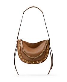 Jagger Leather Messenger Bag