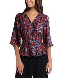 Women's Wrap Top