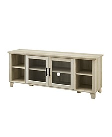 Columbus TV Stand with Middle Doors