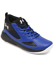 Big Boys GS Lockdown 5 Basketball Sneakers from Finish Line